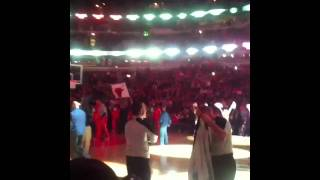 Chicago Bulls introductions vs. Bobcats - Alan Parsons Proj