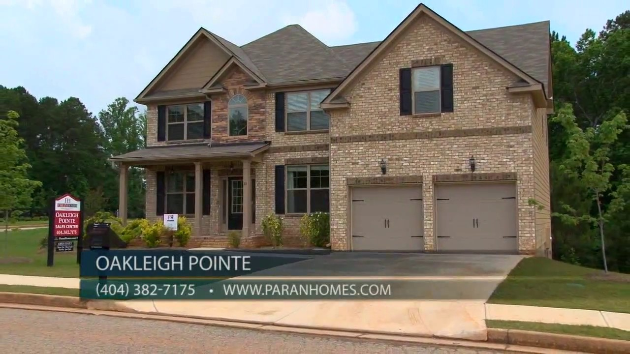Oakleigh Pointe Paran Homes Youtube