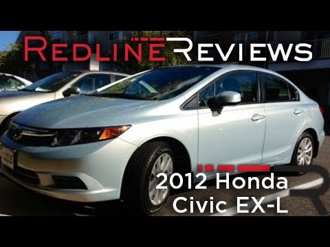 2012 honda civic ex l one year review exhaust test drive youtube. Black Bedroom Furniture Sets. Home Design Ideas