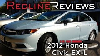 2012 Honda Civic EX-L One Year Review, Exhaust, Test Drive