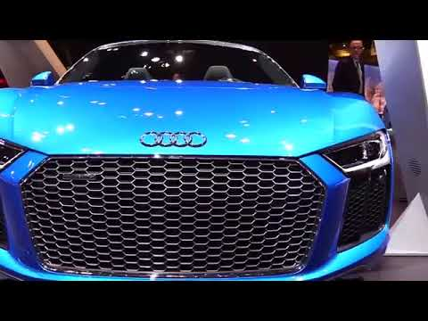 2019 Audi R8 Spyder 5 2 Special Luxury Features Exterior And