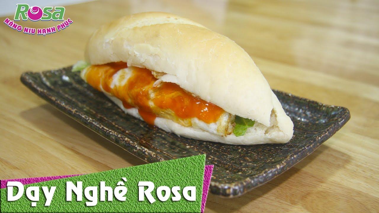 Cùng làm Bánh Mì Tươi với chuyên gia Bánh Mì Việt Nam tại Rosa