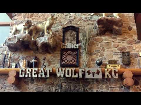 Great Wolf Lodge Kansas City, KS POV Slides Swimming Fun 2017