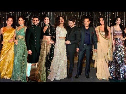 Priyanka Nick Jonas Wedding Reception FULL HD Video | Salman,Katrina,Ranveer,Deepika,Janhvi,Kangana