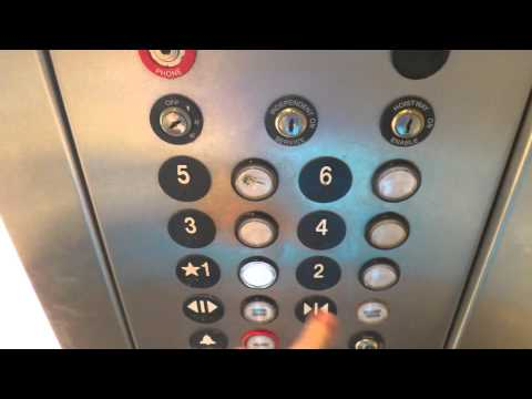 Otis Series 1 Hydraulic Elevators At Comfort Suites In
