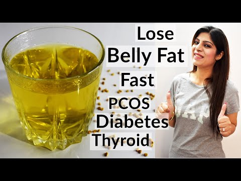 lose-belly-fat-fast-|-weight-loss-drink-for---diabetes/pcos/thyroid-|-methi-tea-|-in-hindi|fenugreek