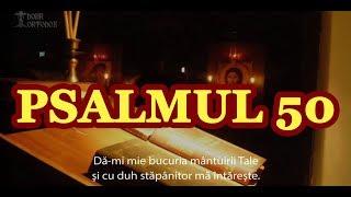 Psalmul 50   scris si cantat