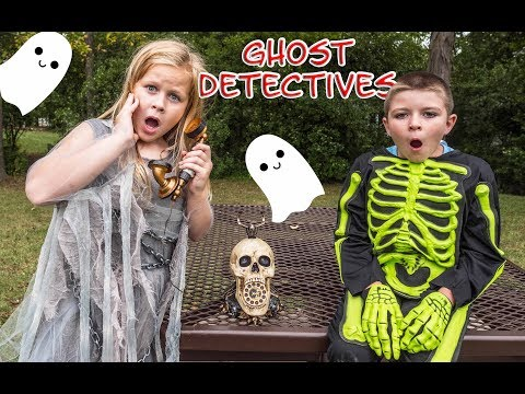Thumbnail: PJ MASKS Disney Ghost Hunters Hunt ForSpooky Candy with Ryan the Batboy