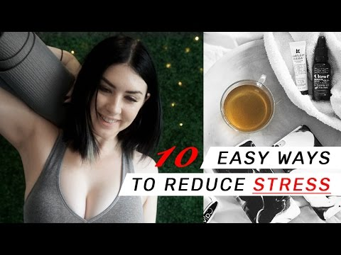 10 Ways To Relax & Avoid Chronic Stress // Rachel Aust