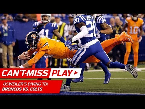 Brock Osweiler's Diving TD to Cap Off Drive & Cut the Lead! | Can't-Miss Play | NFL Wk 15 Highlights