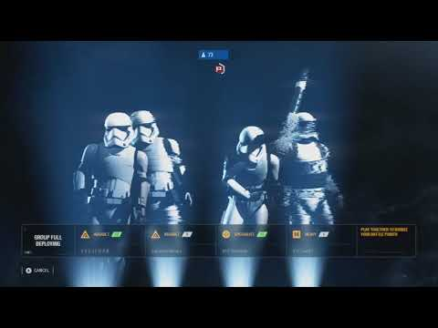 Capturing Jakku - Star Wars Battlefront 2