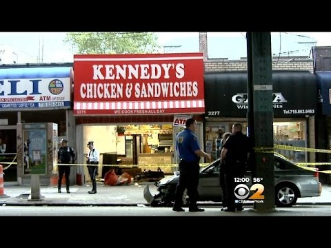 Police: Bronx Man Facing Charges After Driving Into Restaurant, Killing Boy