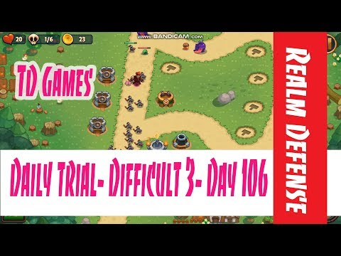 Realm Defense- Daily Trial- Difficult 3,  Day 106