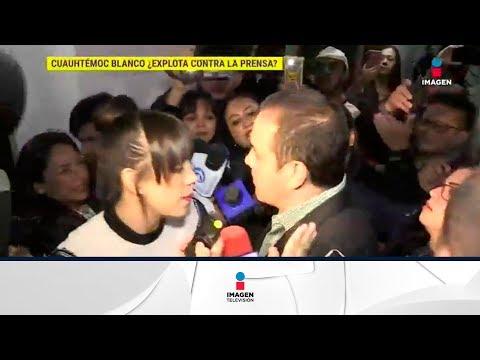 ¿La esposa de Cuauhtémoc Blanco fue golpeada por reporteros? | De Primera Mano
