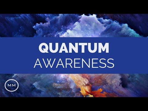 Quantum Awareness - Heighten Your Senses - 108 Hz, 40 Hz, 9 Hz Binaural Beats