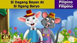 Si Dagang Bayan at Si Dagang Baryo - kwentong pambata tagalog  - 4K UHD - Filipino Fairy Tales