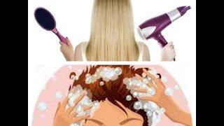 """Lavaggio capelli """"come dal parrucchiere"""" + piega in 10 minuti!"""
