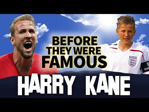 HARRY KANE | Before They Were Famous | England Captain FIFA World Cup 2018