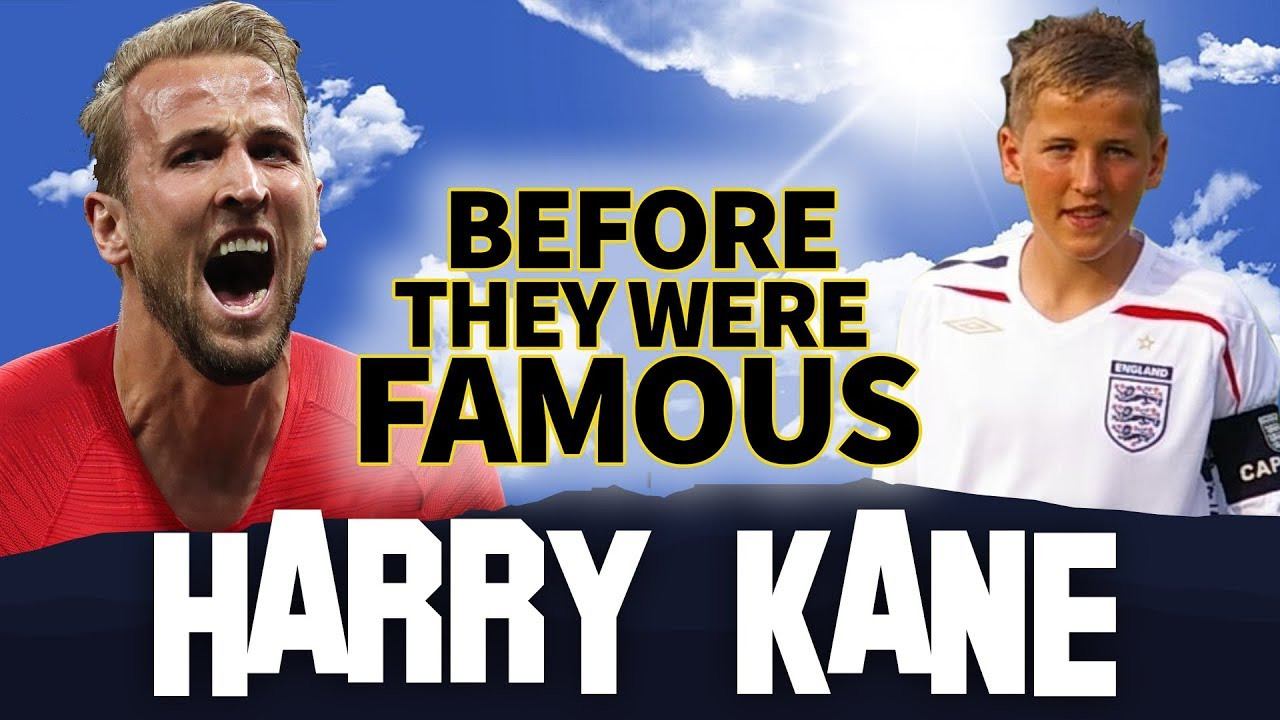 HARRY KANE   Before They Were Famous   England Captain FIFA World Cup 2018