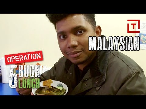 The Best Cheap Malaysian Food in NYC || Operation $5 Lunch