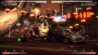 Mortal Kombat X - Кэсси Кейдж Скандалист Комбо Урок