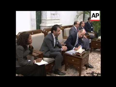 4:3 UN Syria envoy Lakhdar Brahimi in Iraq for talks on civil war