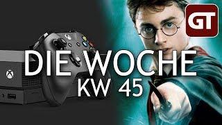 Thumbnail für Xbox One X, mal wieder Lootboxen, Harry Potter – Die Woche KW 45 – GT-Talk #69