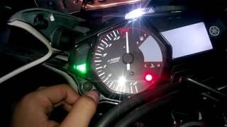 Cara Setting Shift Light di Yamaha R25