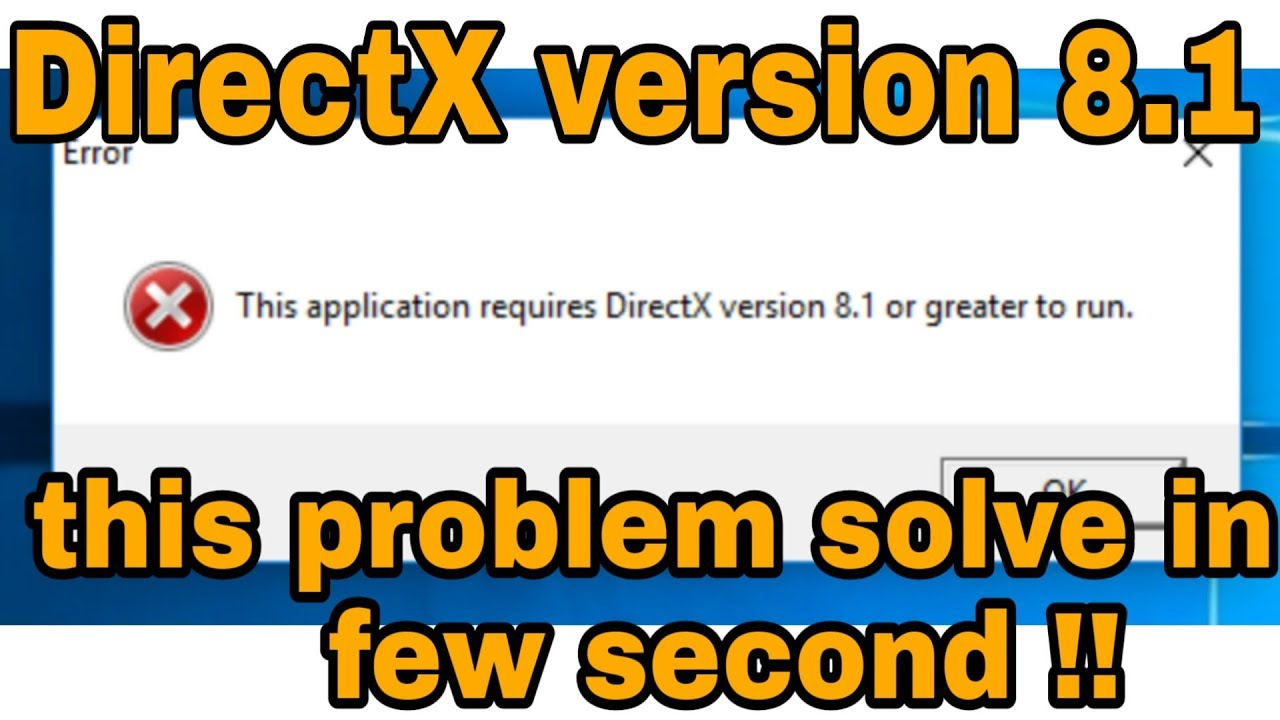 How to Run Gta Vice City on Windows 10 | directx 8.1 Error Fix