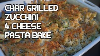 Chargrilled Zucchini 4 Cheese Pasta Bake Recipe