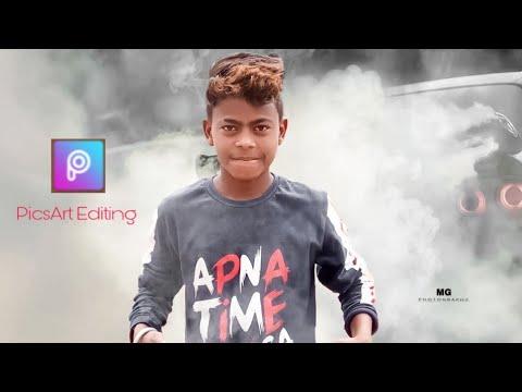 PicsArt Editing 2019 smoke tutorial mg photography thumbnail