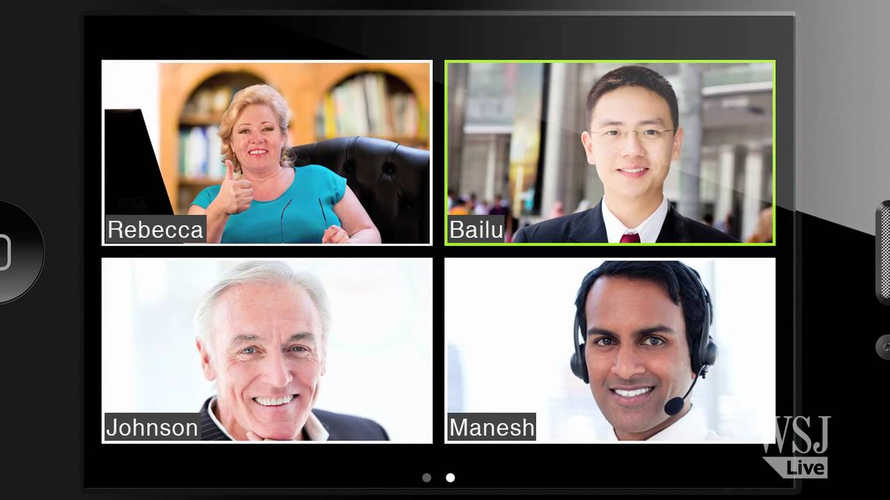 Tech Review Group Video Chat Service Zoom Us Wsj S Walt