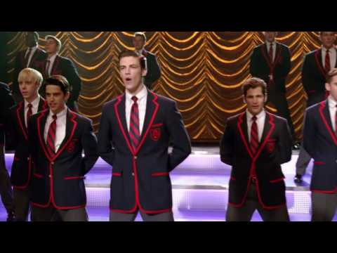 GLEE - Live While We're Young (Grant Gustin) Full HD