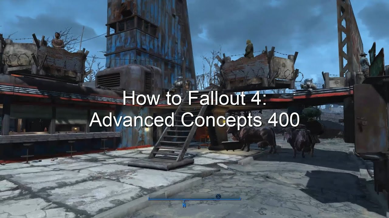 How To Fallout 4 Advanced Concepts 400 Happiness Rugs Traps And