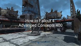 How To Fallout 4: Advanced Concepts 400 (happiness, rugs, traps, and electronics in the base game)