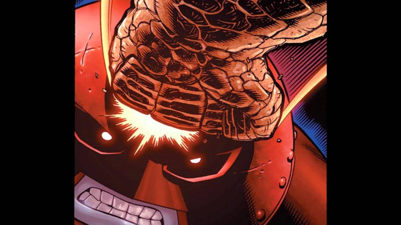 Red Hulk Vs Trion Juggernaut: Colossus (as Juggernaut) Vs The Thing/Red Hulk-Avengers Vs