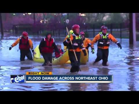 Flood damage across Northeast Ohio