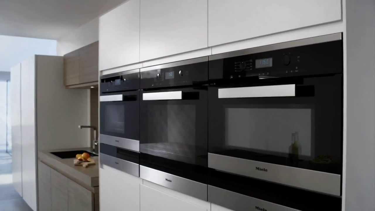 Miele italia forno combinato microonde generazione 6000 - Forno combinato microonde e tradizionale ...