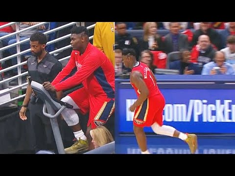 Zion Williamson But He's Out Of Shape & Eating Too Good In Debut (Parody)