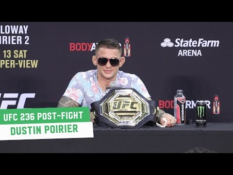 UFC 236 Post-Fight Press Conference: Dustin Poirier