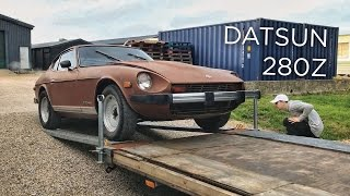 One of boqer123's most viewed videos: My new car! Datsun 280z