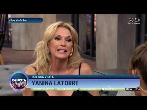 Yanina Latorre mano a mano con Pampita