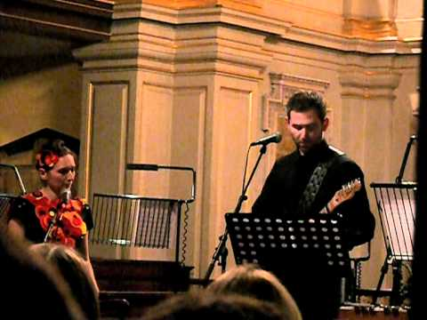 Chris James (Stateless) feat. Shara Worden (My Brightest Diamond) 'I'm On Fire', London, 17 Nov 2011