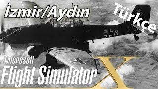 Flight Simulator X Online #4 | Türkçe - İzmir/aydın