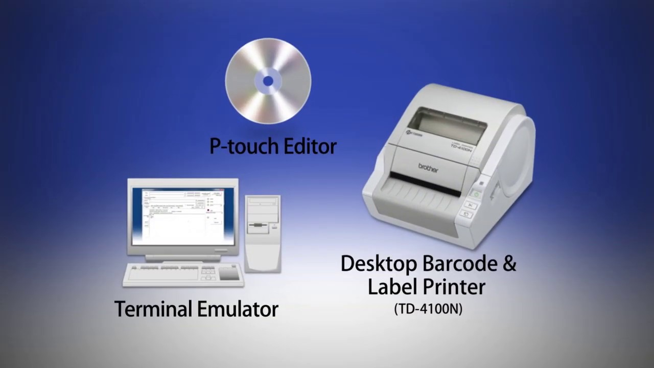 Print labels easily with p touch template tool of brother for Brother label printer templates
