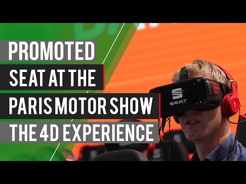 Promoted: SEAT at the Paris Motor Show - Interactive Experience
