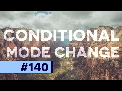 What is Conditional Mode Change in Photoshop?  | Educational