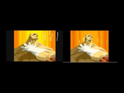 Street Fighter Alpha 2 Intro Comparison Snes Vs Sega Saturn