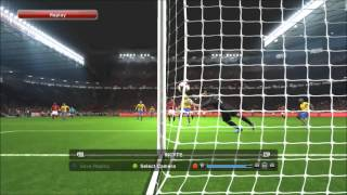 PES 2014 PC (Gameplay, Goal Replay) by Eins