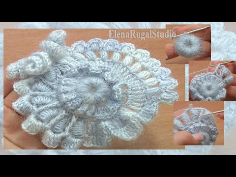 Crochet Freeform Scrumble Tutorial 2 Part 1 of 2 Freeform Cr